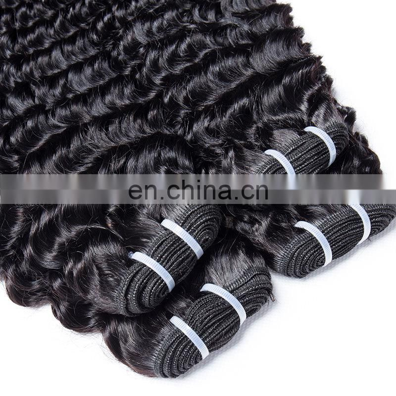 Brazilian human hair weave deep wave human hair