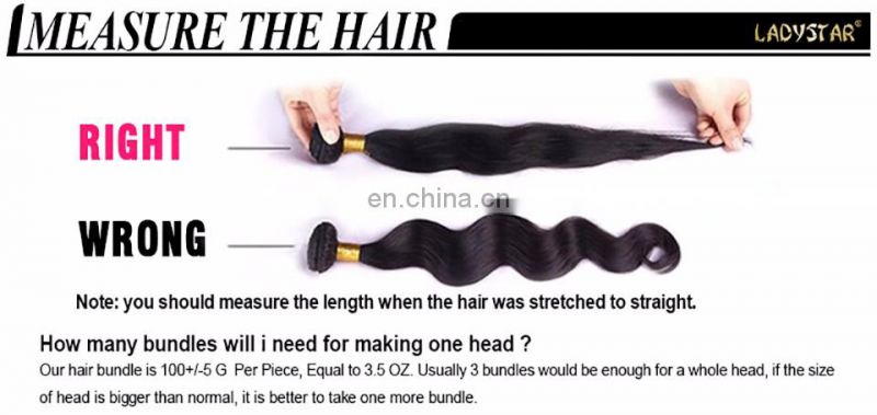 hengyuan LADYSTAR brazilian hair bundles 3 pcs curly hair sexy curly human hair extension