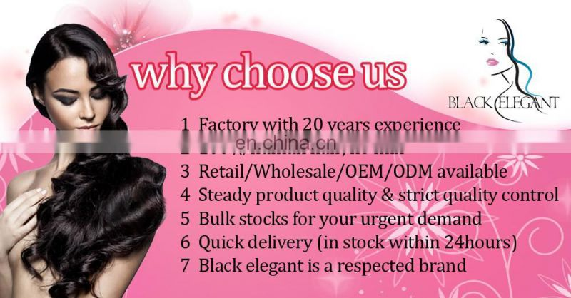 Unprocessed Best quality body wave brazilian human hair extension