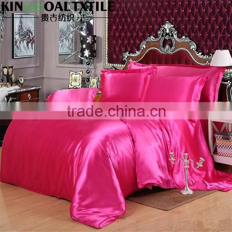 Factory supply hot sale 100% Pure Silk Quilt/Duvet Cover in Queen/King