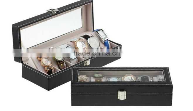 hot sale watches display case / watch display box / watches display stand