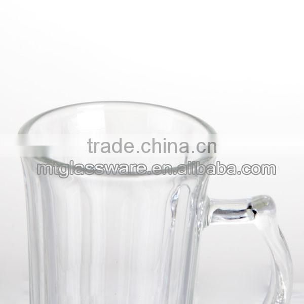Mintao KB7669 clear machine made cheap yard beer glass