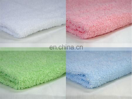 100% Combed Cotton Terry Velour Face Towel