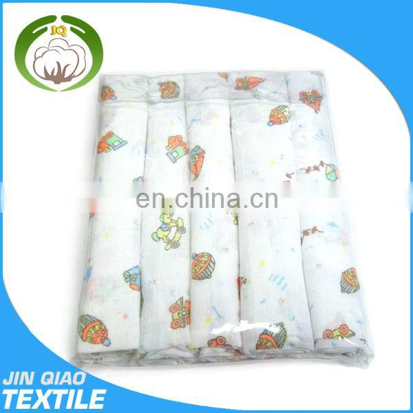 100% cotton printed muslin baby wrap flannel baby diaper/nappy baby products