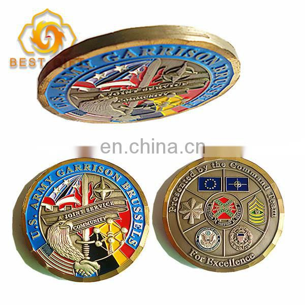 Top Selling Customized Round Medal Coin