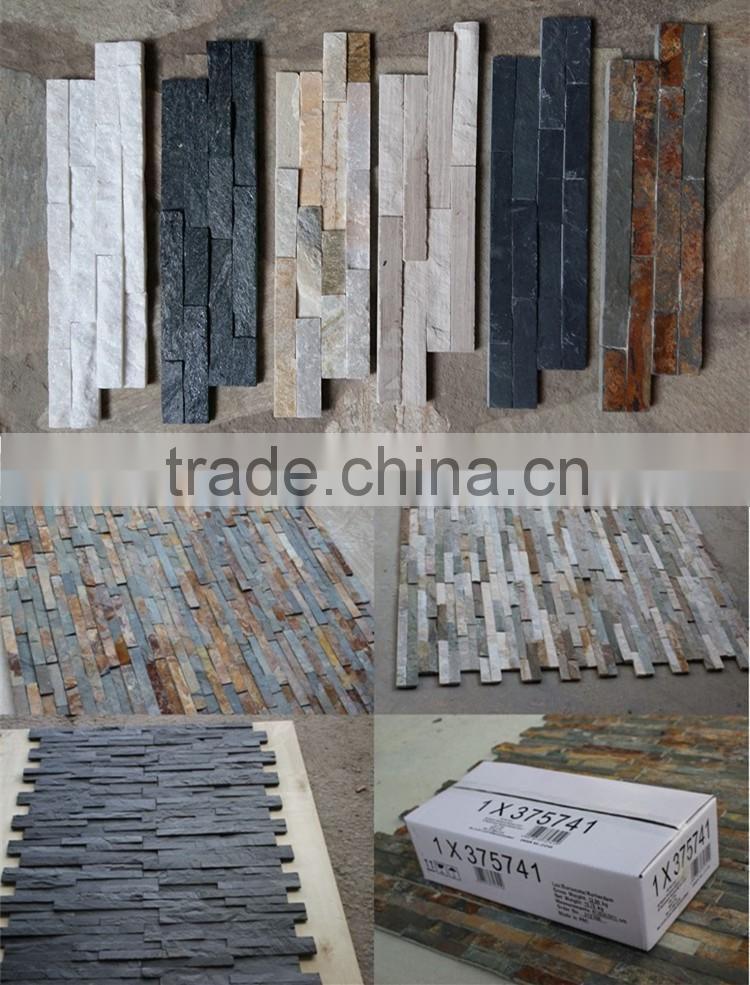 Outdoor Concrete Granite Gate Pillar Design