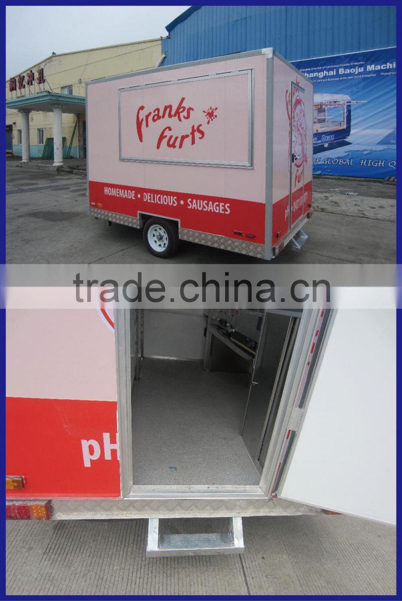 European quality , Chinese Price used fast food equipment food frozen machine vending food warmer truck
