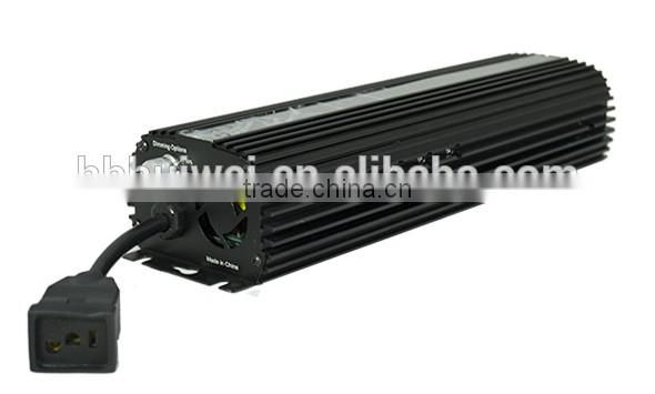 Hydroponic Light Ballast HID Ballast 1000W Dimmable With Cooling Fan Original Manufacturer