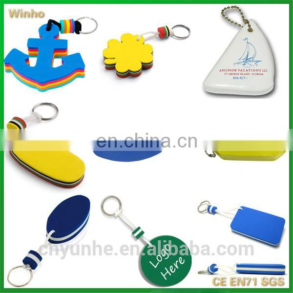 Jumping Dolphin Shaped Floating Key Chain