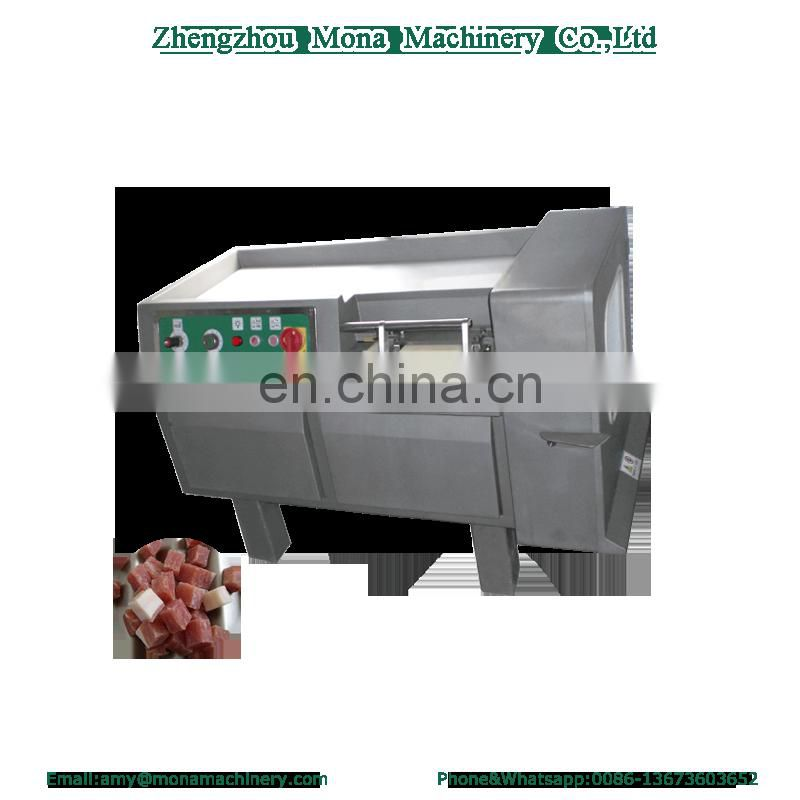 Multi-functional Diced Industrial Vegetable Meat Food Cutter Machine Image
