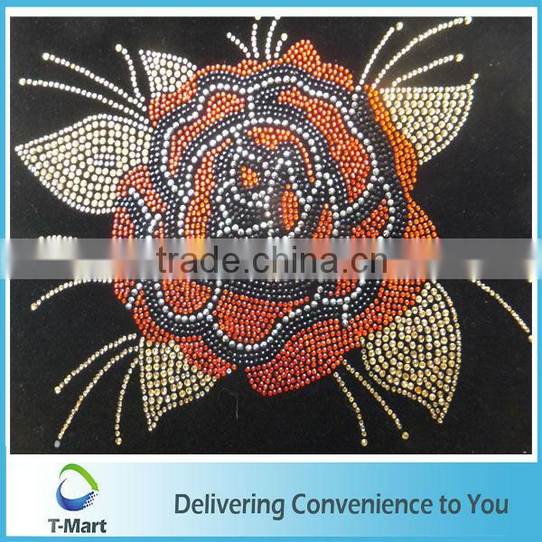 Charming heat transfer glitter fabric