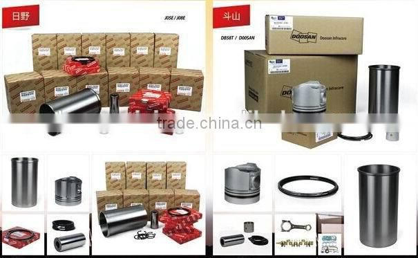 excavator engine parts W06D piston ring set 13011-1983 13011-2440 13011-2420 13019-1150A for Hino