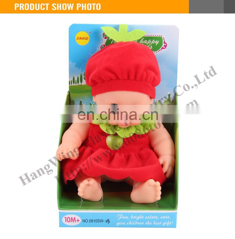 Cheap lifelike toy small plastic baby dolls