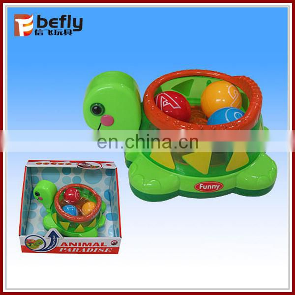 Lovely battery operated toy turtle for baby