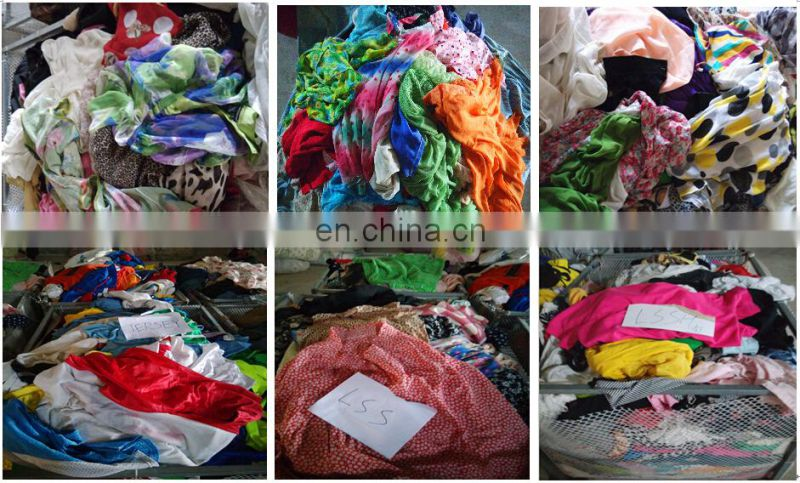 tropical summer mixed used clothing and bags for africa