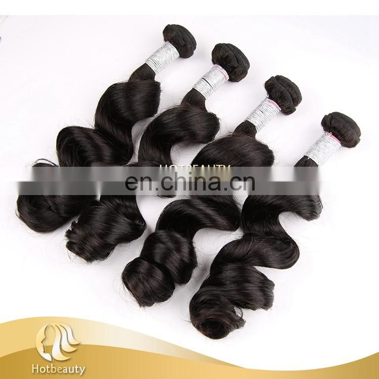 Profession production peruvian human hair grade 10a loose wave no shedding