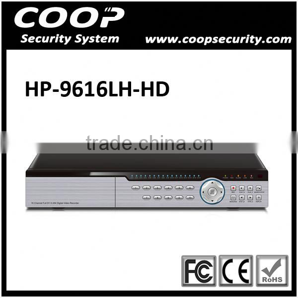 16CH DVR Security Recording System Embedded LINUX HDMI H 264 Stand Alone CCTV DVR