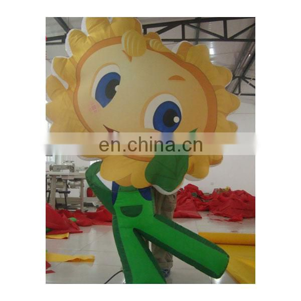 custom inflatable plant inflatable advertising flower for sale