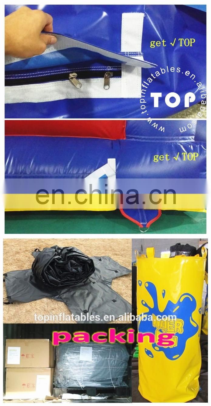 TOP gaint inflatable water slide for sale , inflatable slide with pool