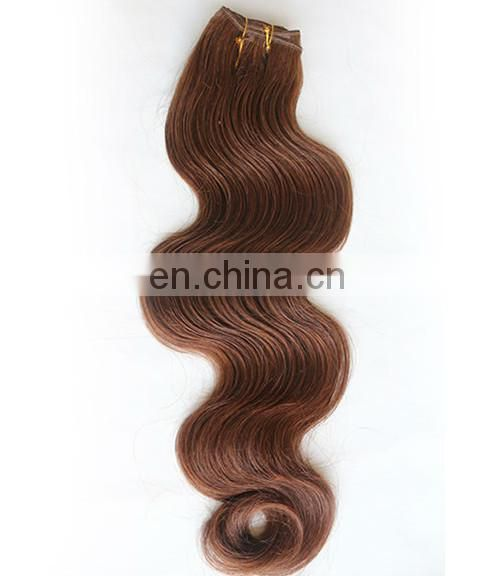 wholesale 8 -32inch tangle free and no shed malaysian auburn remy hair weave