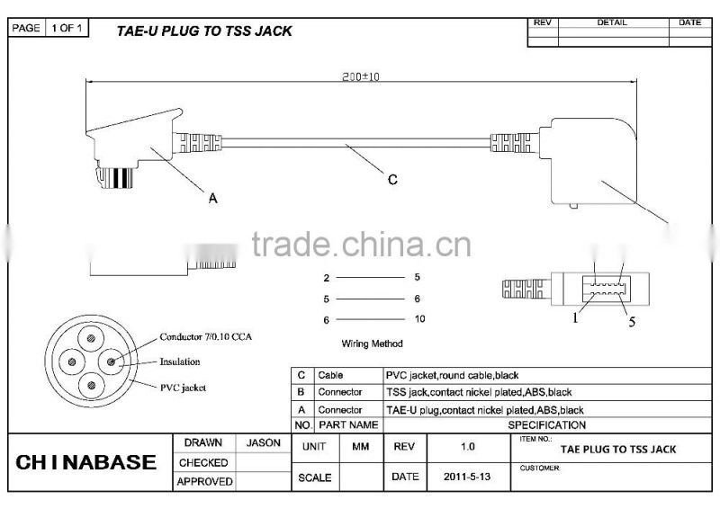 Telefonsteckdose phone cord extension internet cable phone tae n of telefonsteckdose phone cord extension internet cable phone tae n swarovskicordoba Image collections