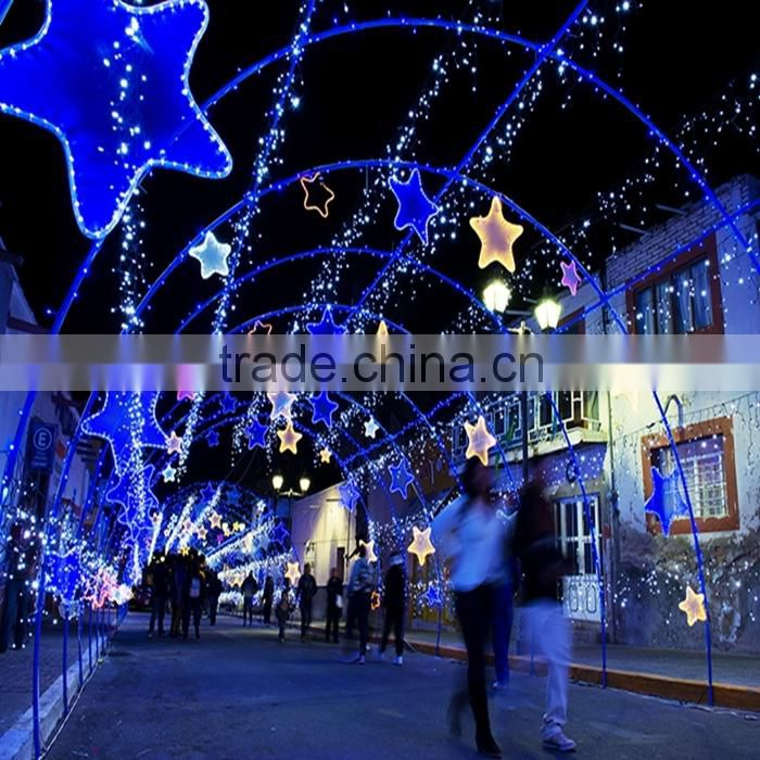 Christmas Decoration Lights Colorful Outdoor LED Arch Lights, LED Motif Light Arch Lights