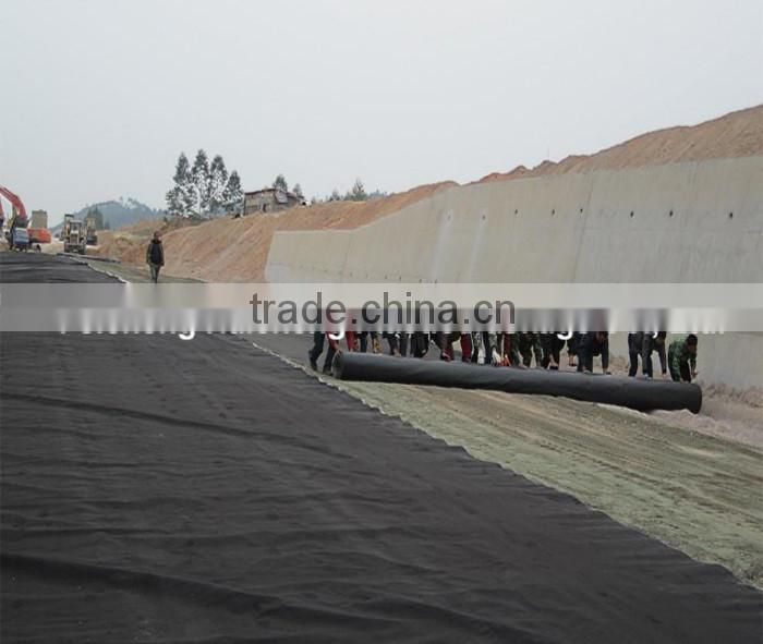competitive price LDPE Waterproof Geomembrane(0.2-3.0mm/27Mpa)