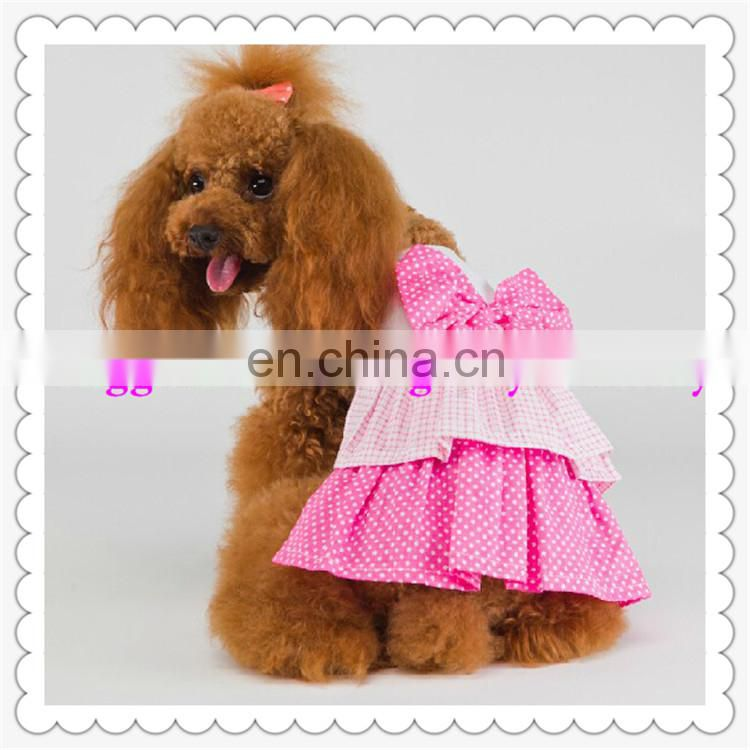 newest design full color printting pet's clothing with high quality