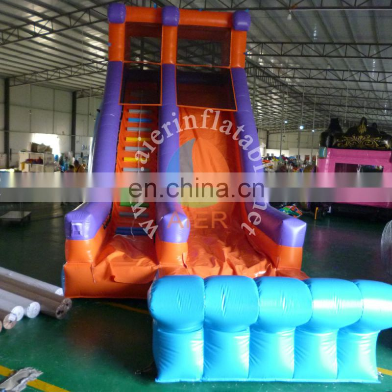 long giant inflatable water slide / outdoor inflatable water slides for kids