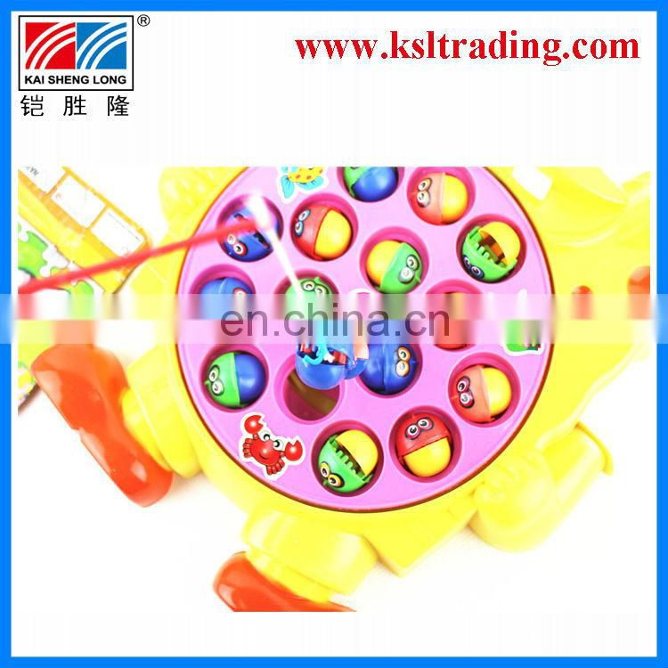 battery operated revolving fishing toy,kids plastic fishing toys for children