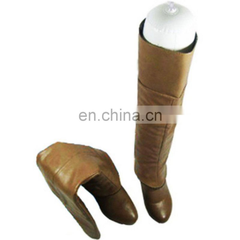 White Film Inflatable Boot Stretcher Shaper Shoe Tree
