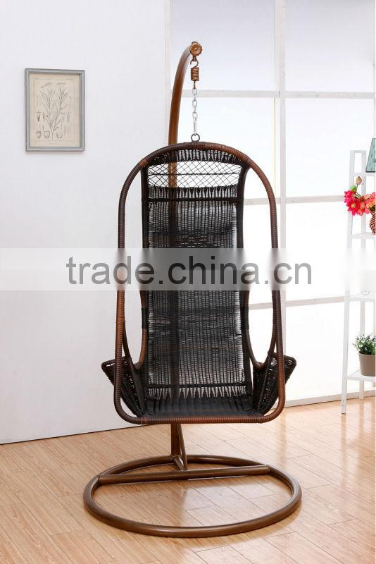 best selling rattan swing hanging chair outdoor garden furniture ZG-1DL