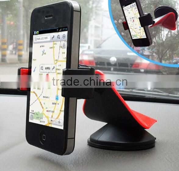 360 degree rotatable bat model phone sticky holder / Sticky Grip Car Phone Mount / mobile phone holders