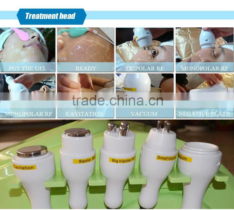 mobile ultrasonic beauty device / weight loss skin lifting machine