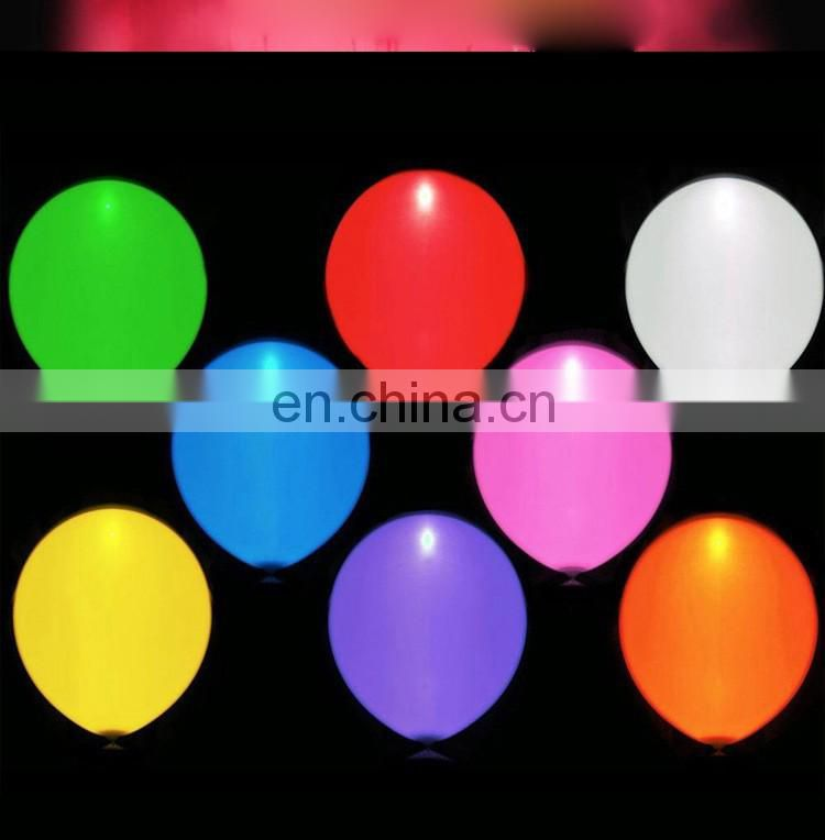 New packing magic balloons led light balloons