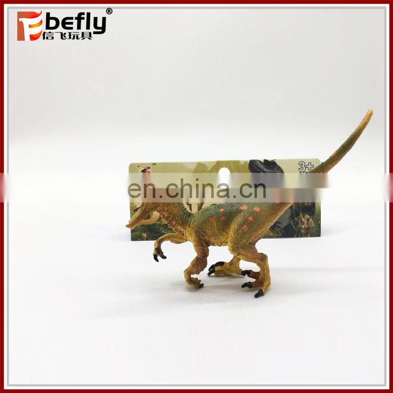 Kids collection small Velociraptor toy dinosaur