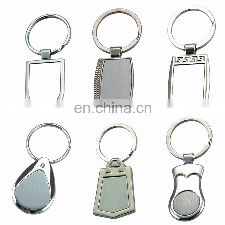 Transparent customzied printed acrylic, name charms keychain