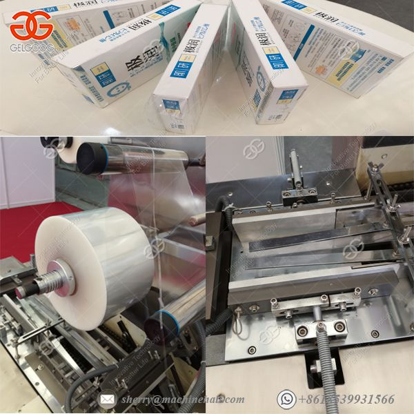 Health Care Products Cardboard Box Packaging Machine Paper Wrapping Machine Image