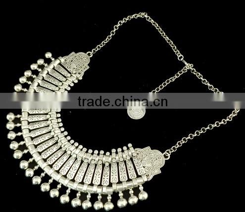 New Vintage Chunky Tassels bohemian chokers Turkish indian jewelry Statement Necklace