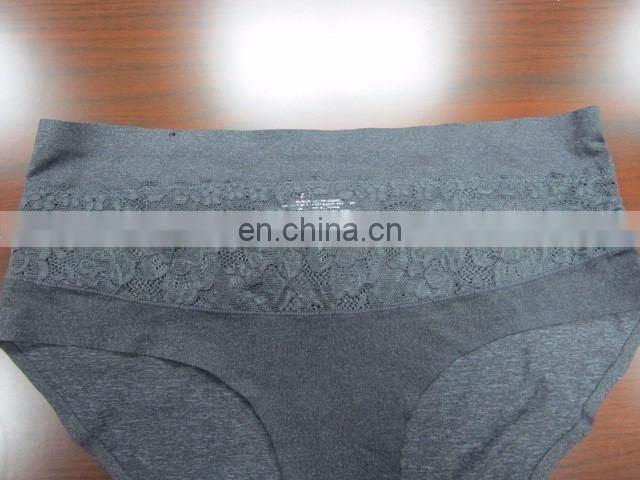 Top-selling anti Bacterial cheap semless lady one pc laser cut underwear