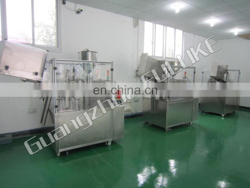 FLK CE automatic Soda Water Aluminum Can Filling and Sealing Machine