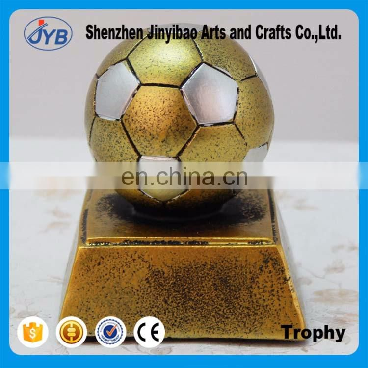Golden football model Creative trophy ornaments Wholesale of Arts and crafts