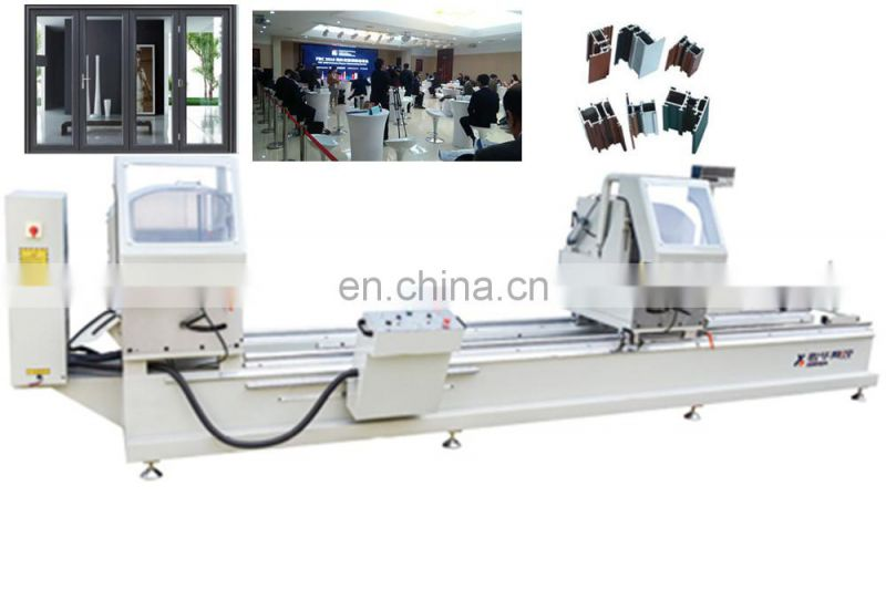 2 head saw V-CORNER CLEANING MACHINE V type cutting for PVC window frame processing angle seam China Big Manufacturer Good Price