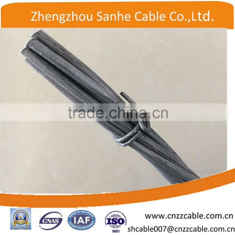 1x7 1/4(7/2.03mm) galvanized steel stranded wire cable/guy wire/stay wire ASTM A475 CLASS A