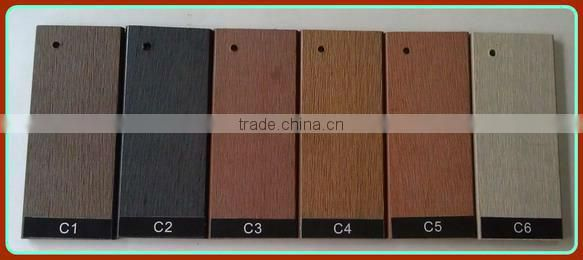 high quality wpc hollow decking floor