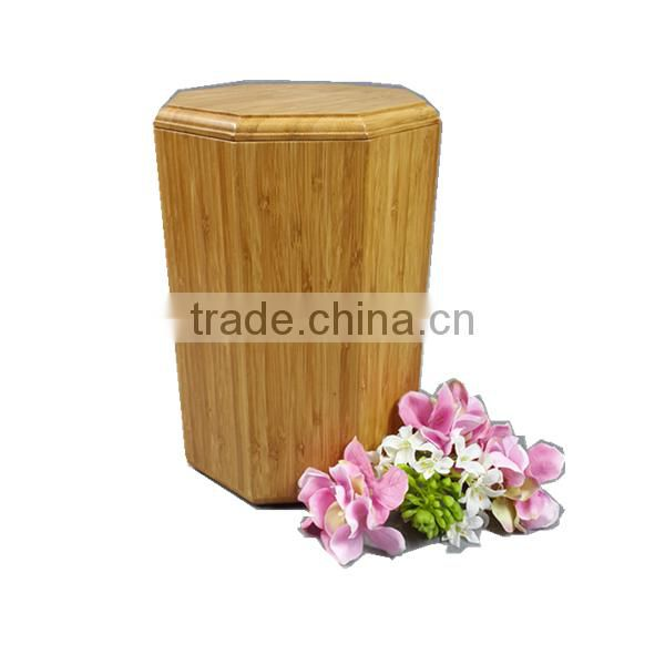 Funeral Supply Bamboo Urns For Ashes, Cremation Ashes Urn