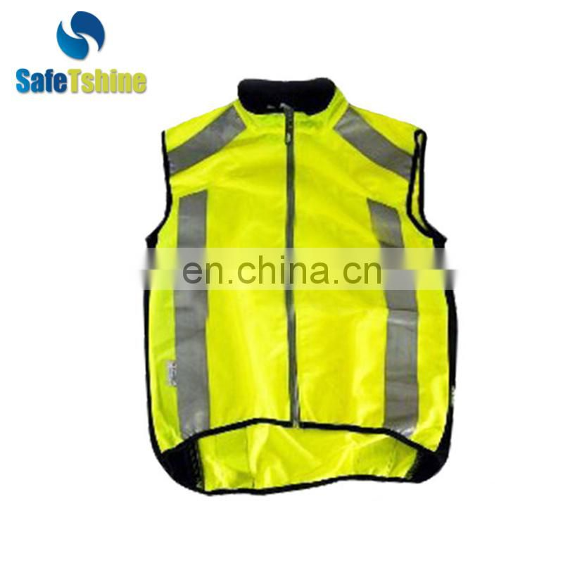 Good quality traffic safety reflective running vests
