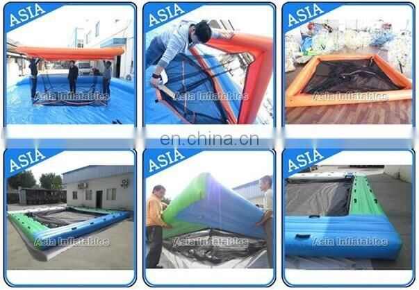 Inflatable Swimming Enclosure Portable Floating Pool Enclosure / Nettle Net Boat Pools