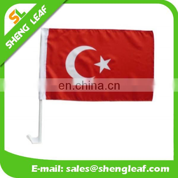 Country promotional custom Car Flag/national flags