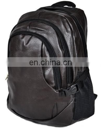 genuine leather laptop backpack